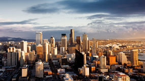 City of Seattle Royalty Free Stock Images