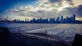 Seattle morning royalty free stock photos