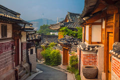 City of Seoul. Stock Images