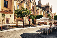 City Seville, cathedral Stock Photo