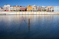 City of Seville Skyline Royalty Free Stock Images