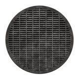 City sewer cover (Manhole serie). This is an illustration of a sewer cover (serie Royalty Free Stock Photography