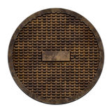 City sewer cover (Manhole serie) Stock Image