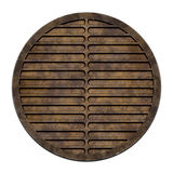 City sewer cover (Manhole serie) Royalty Free Stock Photography