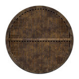 City sewer cover (Manhole serie). This is an illustration of a sewer cover (serie Royalty Free Stock Images