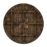 City sewer cover (Manhole serie). This is an illustration of a sewer cover (serie royalty free illustration