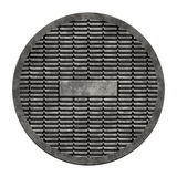 City sewer cover (Manhole serie) Stock Photos