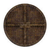 City sewer (Manhole serie) Stock Images