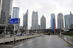 The city of Shanghai, China, Asia Stock Image