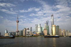 City Shanghai skyline Stock Image