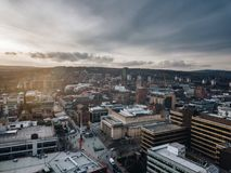 Sheffield City. City of Sheffield, United Kingdom from Stock Images