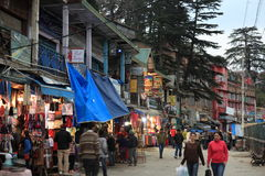 The City of Shimla Royalty Free Stock Photo