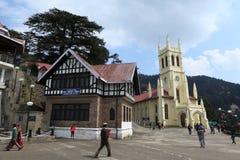 The City of Shimla Royalty Free Stock Photos