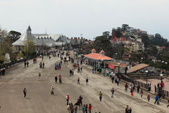 The City of Shimla Royalty Free Stock Photos