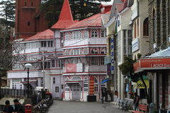 The city of Shimla Stock Photography