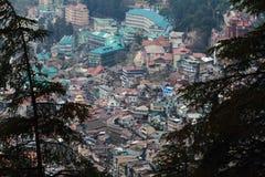 The city of Shimla Royalty Free Stock Image