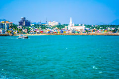 City by a shore. Its called the tip of India Royalty Free Stock Images