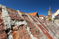 The city of Sibiu, Romania Royalty Free Stock Photo