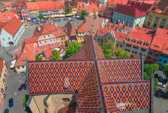 The City of Sibiu in Romania Royalty Free Stock Images