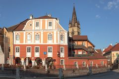 City of Sibiu in Romania Royalty Free Stock Images