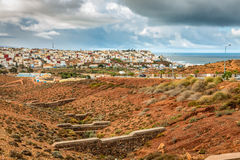 City Sidi Ifni in Morocco. Royalty Free Stock Images