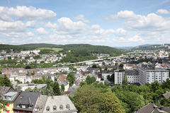 City of Siegen, Germany Royalty Free Stock Photo