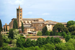 The city of Siena, Tuscany royalty free stock photo