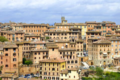 The city of Siena, Tuscany Stock Images