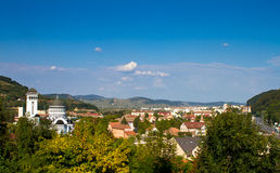 The city of Sighisoara Royalty Free Stock Photography