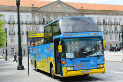 City Sightseeing bus in Porto, Portugal Royalty Free Stock Images
