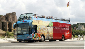 City sightseeing ROMA Royalty Free Stock Photo
