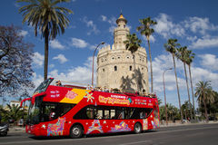 City Sightseeing Stock Photography