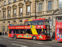 City Sightseeing tour, Glasgow Stock Image