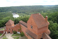 The city of Sigulda of Latvia architecture royalty free stock images