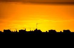 City Silhouette. Stock Image