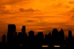 City silhouette Royalty Free Stock Photos