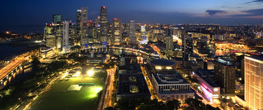 City of Singapore Royalty Free Stock Photography