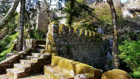 Sintra, Sintra Castle and Nature Royalty Free Stock Photo
