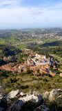 Sintra, Sintra Castle and Nature Stock Image