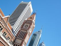 City Sky Line. Perth City Sky Line Royalty Free Stock Photography