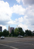 City sky line Royalty Free Stock Photo