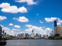 City and sky royalty free stock photo