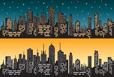 City skyline 1 Stock Photo