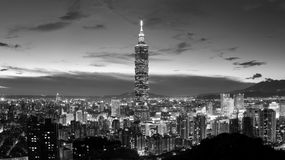 City skyline Royalty Free Stock Image