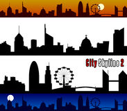 Free City Skyline [2] Royalty Free Stock Image - 7261846
