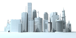 City - skyline Royalty Free Stock Images