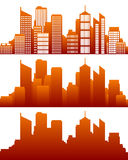 City skyline Stock Images