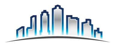 Modern wall lights interior - City Skyline Logo Stock Photo Image 22035900