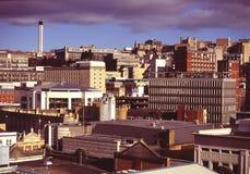 City Skyline. City of Bristol UK skyline stock image