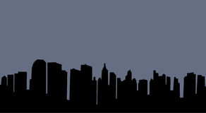 City skyline. Illustration of an urban skyline vector illustration